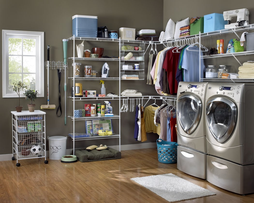 Closetmaid Laundry Room Storage Systems