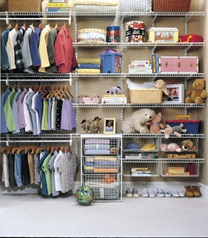 Wire Mesh Closet Systems In Albuquerque