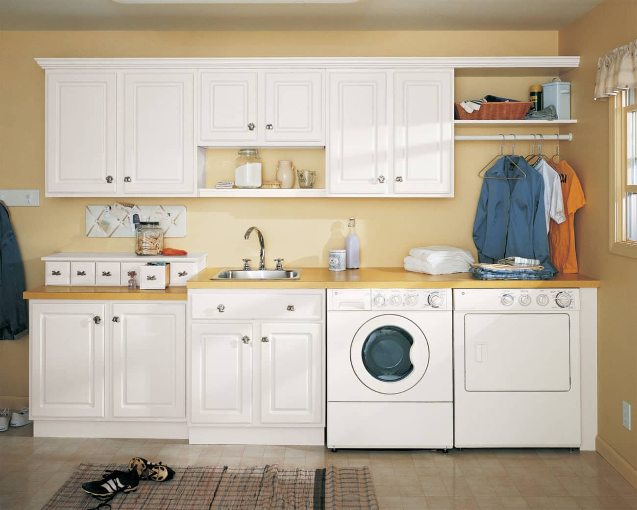 Closetmaid Laundry Storage Systems